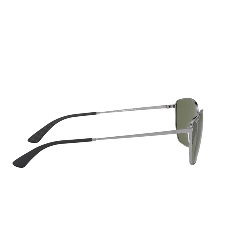 Ray-Ban® Square Sunglasses: RB3653 color Gunmetal 004/9A.