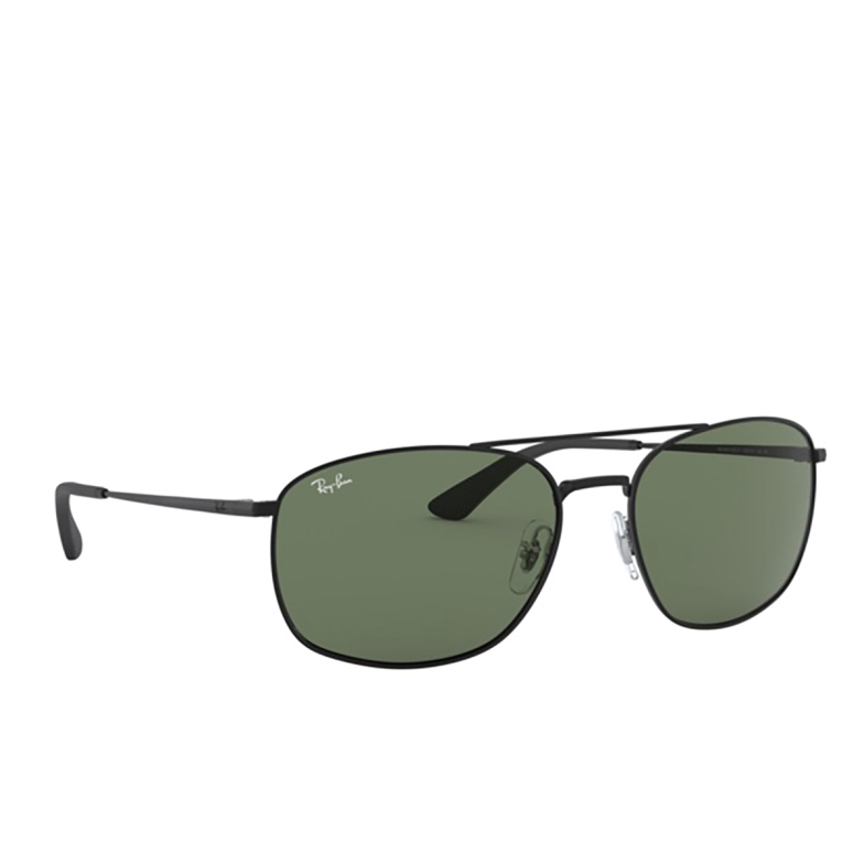 Ray-Ban® Square Sunglasses: RB3654 color Black 002/71.