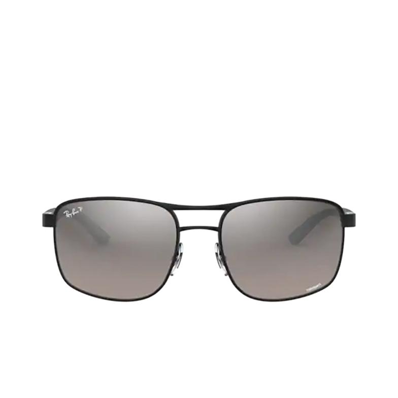 Ray-Ban® Square Sunglasses: RB3660CH color Matte Black On Black 186/5J.