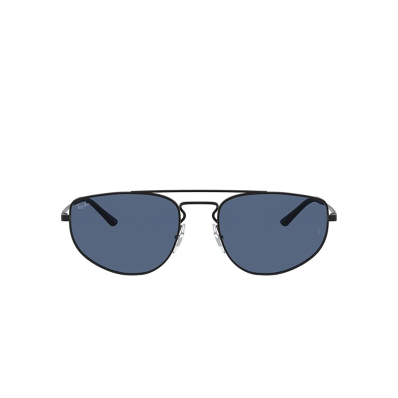 Ray-Ban® Rectangle Sunglasses: RB3668 color Rubber Black 901480.