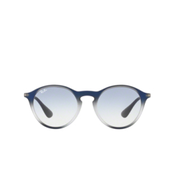 Ray-Ban® Sunglasses: RB4243 color Blue Shot On Black 622519.