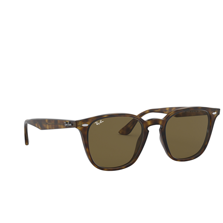 Ray-Ban® Square Sunglasses: RB4258 color Light Havana 710/73.