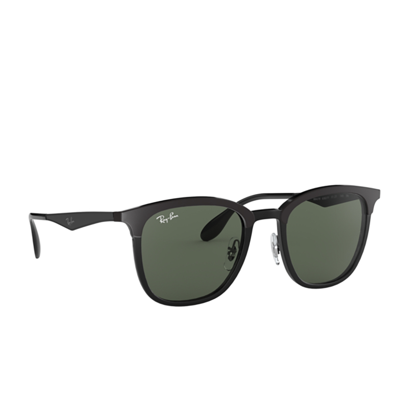 Ray-Ban® Square Sunglasses: RB4278 color Black / Matte Black 628271.