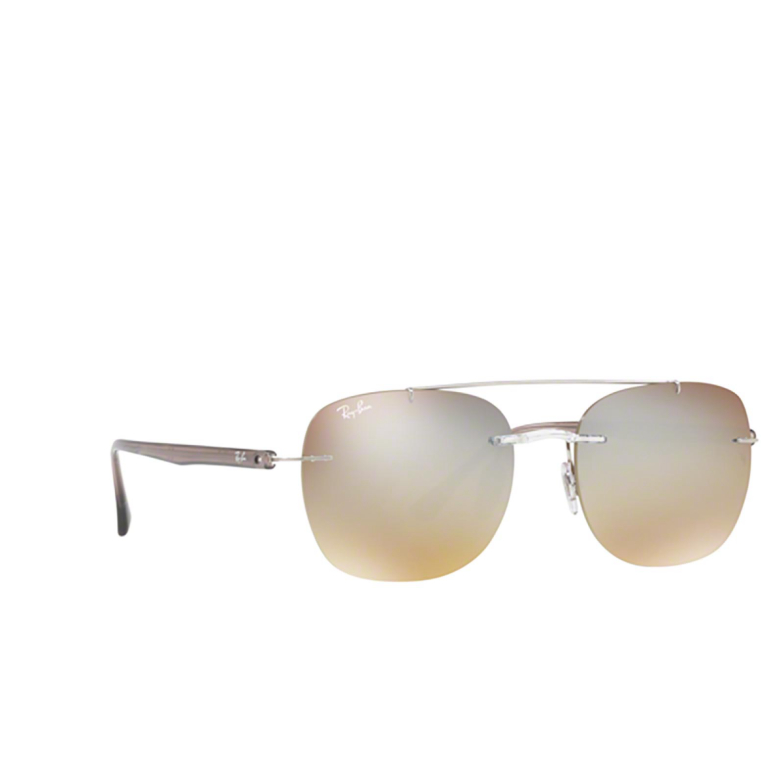 Ray-Ban® Square Sunglasses: RB4280 color 6290B8.