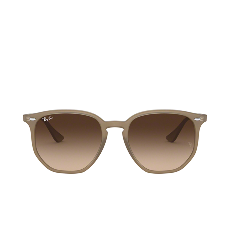 Ray-Ban® Square Sunglasses: RB4306 color Opal Beige 616613.
