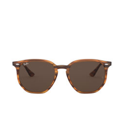 Ray-Ban® Sunglasses: RB4306 color Striped Red Havana 820/73.