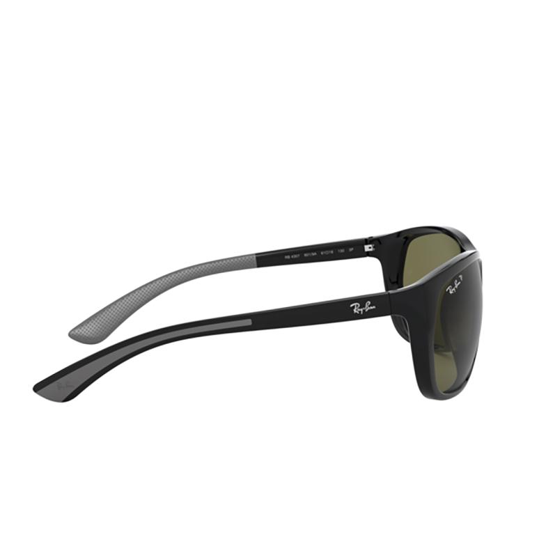 Ray-Ban® Square Sunglasses: RB4307 color Black 601/9A.