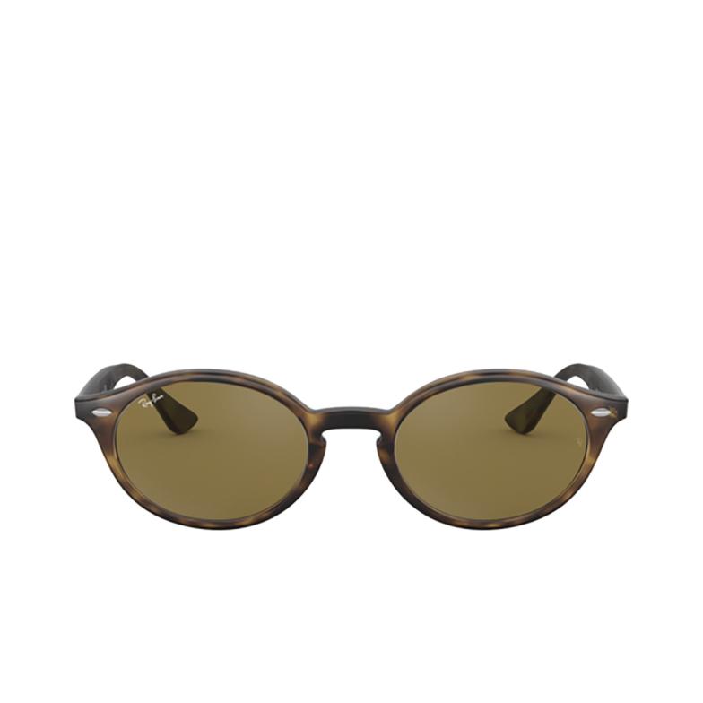 Ray-Ban® Oval Sunglasses: RB4315 color Havana 710/73.