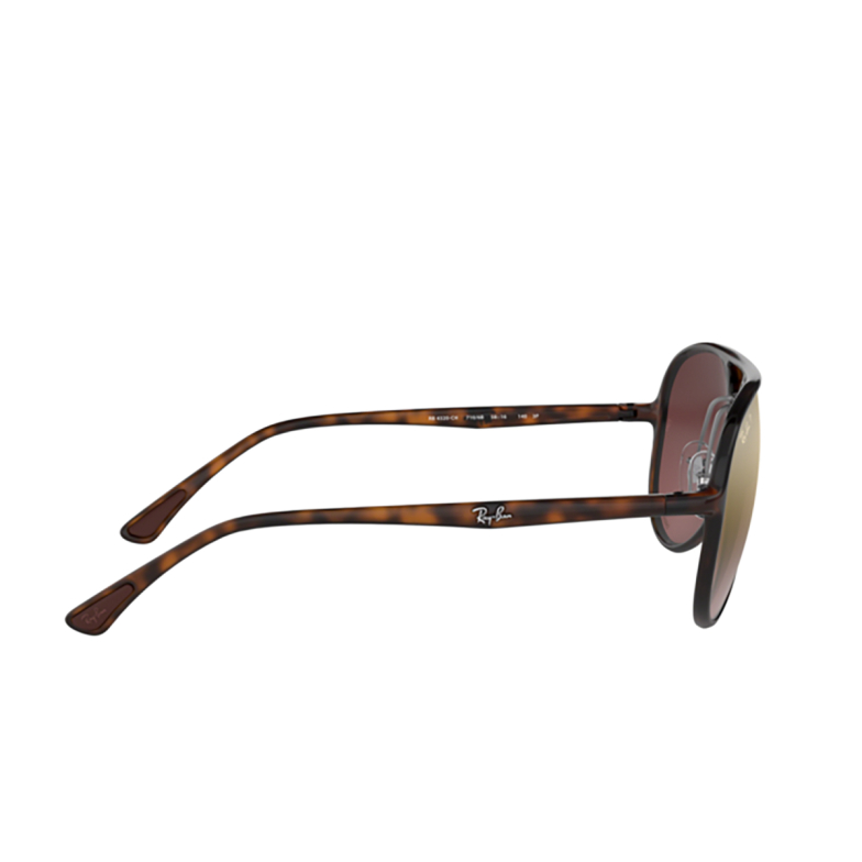 Ray-Ban® Aviator Sunglasses: RB4320CH color Light Havana 710/6B.