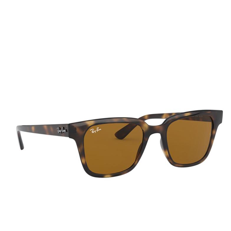 Ray-Ban® Square Sunglasses: RB4323 color Havana 710/33.