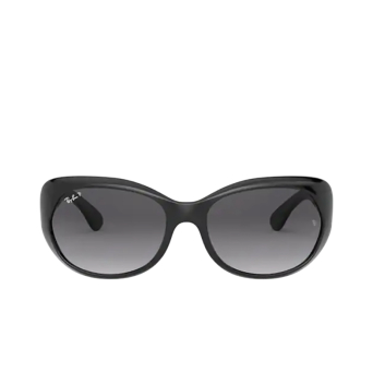 Ray-Ban® Oval Sunglasses: RB4325 color Black 601/T3.