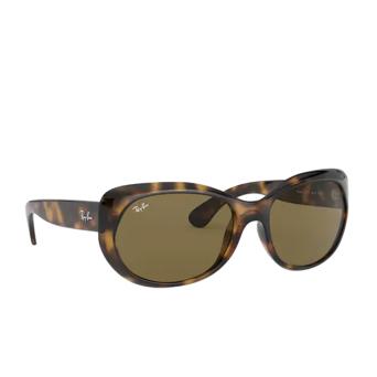 Ray-Ban® Oval Sunglasses: RB4325 color Light Havana 710/73.