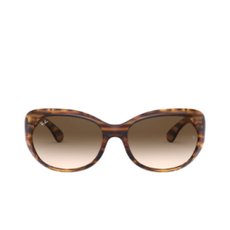 Ray-Ban® Sunglasses: RB4325 color Striped Red Havana 820/13.