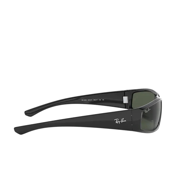 Ray-Ban® Oval Sunglasses: RB4335 color Black 601/71.
