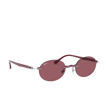Ray-Ban® Oval Sunglasses: RB8060 color Silver 003/75.