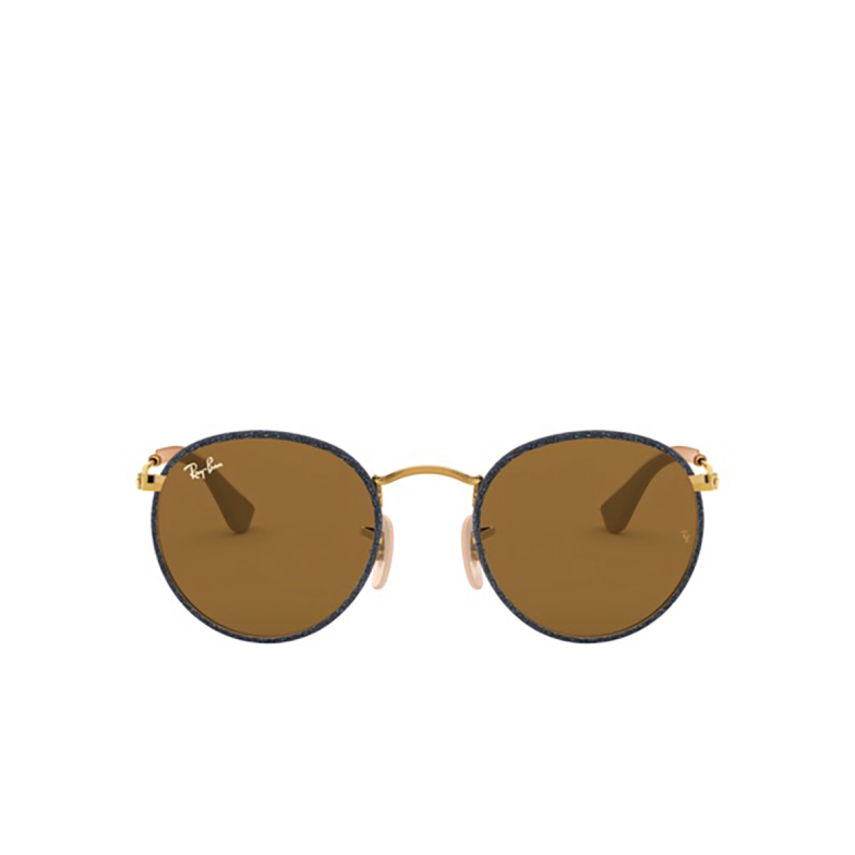 Ray-Ban® Round Sunglasses: Round Craft RB3475Q color Blue Jeans On Arista 919233.