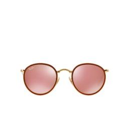 Ray-Ban® Sunglasses: Round Folding I RB3517 color Arista 001/Z2.