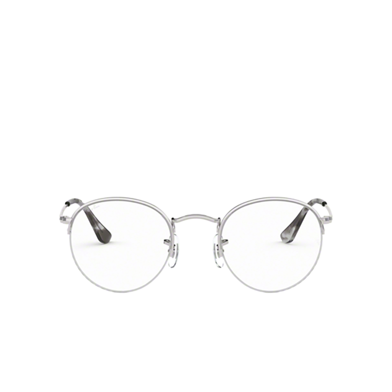 Ray-Ban® Round Eyeglasses: Round Gaze RX3947V color Silver 2501.