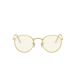 Ray-Ban® Sunglasses: Round Metal RB3447 color Legend Gold 9196BL.