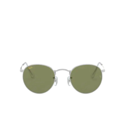Ray-Ban® Sunglasses: Round Metal RB3447 color Silver 91984E.