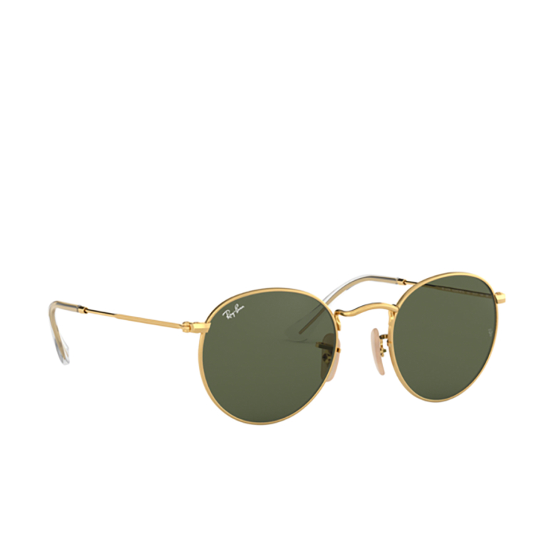 Ray-Ban® Round Sunglasses: Round Metal RB3447N color Arista 001.