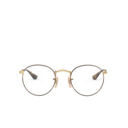 Ray-Ban® Eyeglasses: Round Metal RX3447V color Gold On Top Havana 2945.
