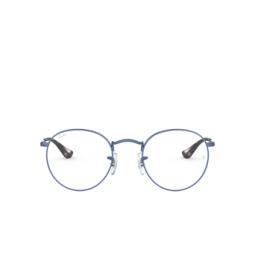 Ray-Ban® Eyeglasses: Round Metal RX3447V color Sand Trasparent Blue 3071.