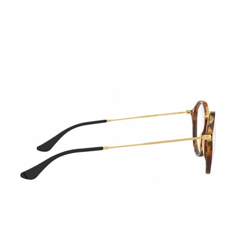 Ray-Ban® Round Eyeglasses: Round RX2447V color Brown Havana 5494.