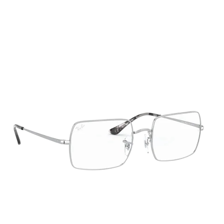 Ray-Ban® Rectangle Eyeglasses: RX1969V color Silver 2501.