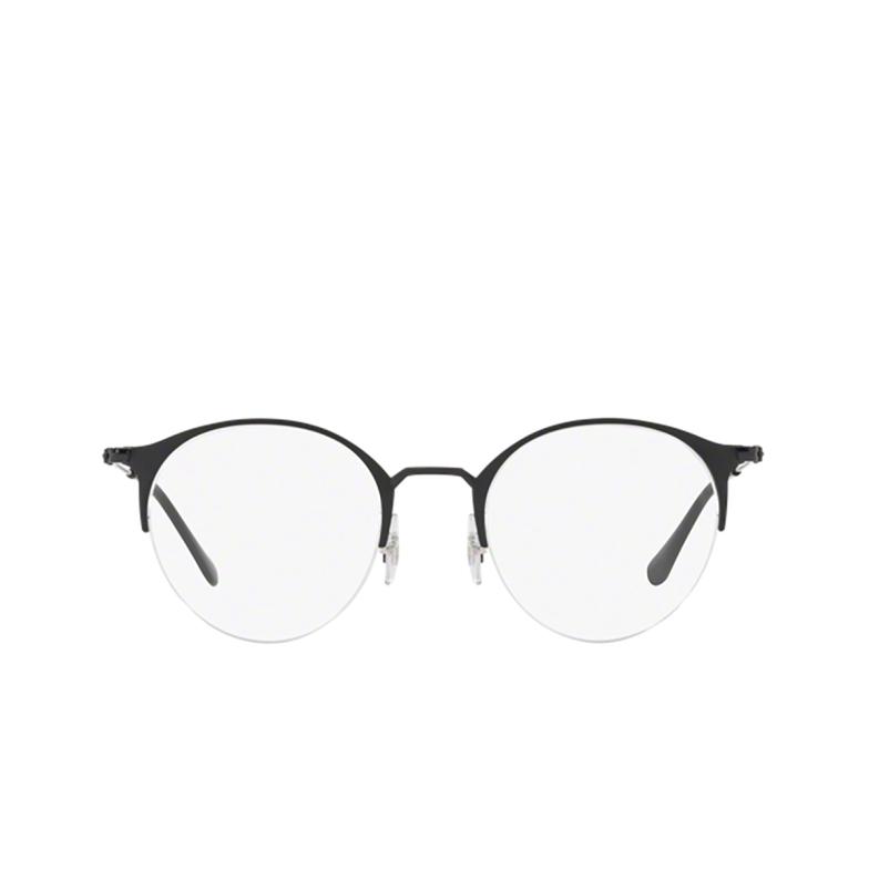 Ray-Ban® Round Eyeglasses: RX3578V color Matte Black On Black 2904.
