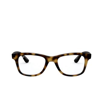 Ray-Ban® Square Eyeglasses: RX4640V color Havana 2012.