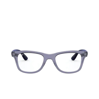 Ray-Ban® Square Eyeglasses: RX4640V color Transparent Blue 5995.