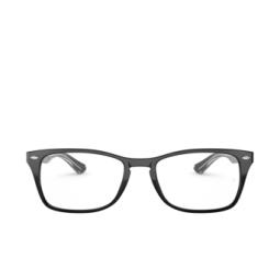 Ray-Ban® Eyeglasses: RX5228M color Transparent On Top Black 2034.