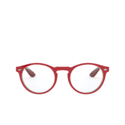 Ray-Ban® Eyeglasses: RX5283 color Red On Top Trasparent Grey 5987.
