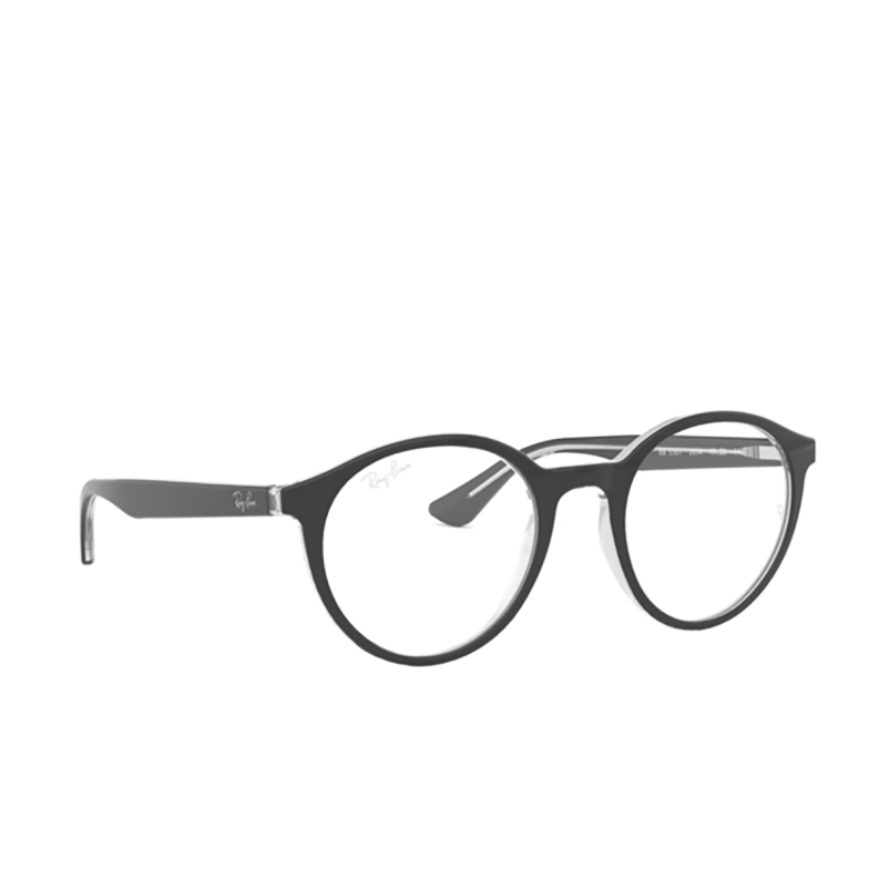 Ray-Ban® Round Eyeglasses: RX5361 color Top Black On Transparent 2034.