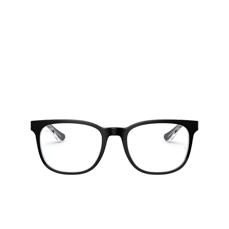 Ray-Ban® Square Eyeglasses: RX5369 color Top Black On Transparent 2034.