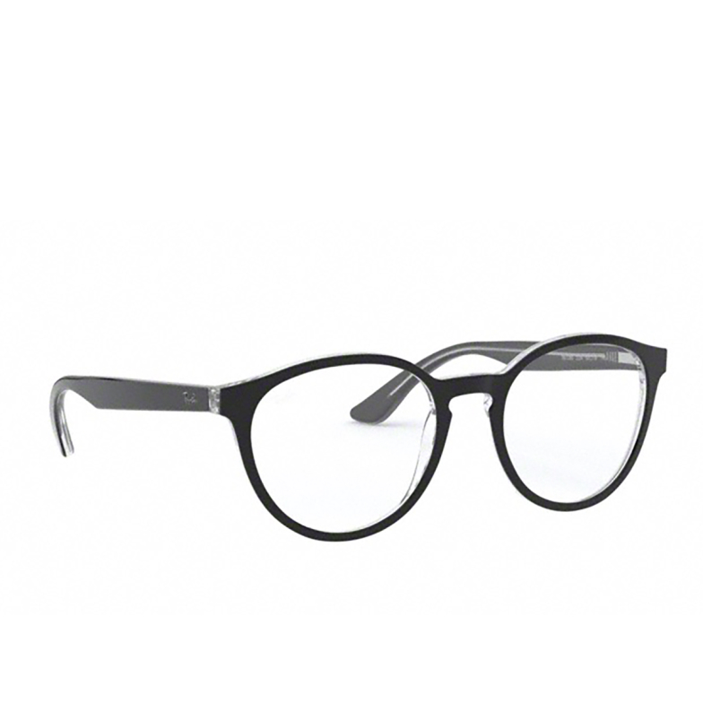 Ray-Ban® Round Eyeglasses: RX5380 color Black On Transparent 2034.