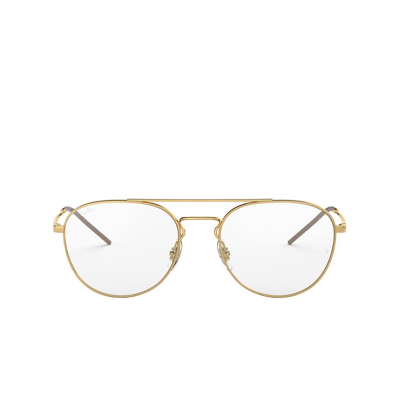 Ray-Ban® Aviator Eyeglasses: RX6414 color Gold 2500.