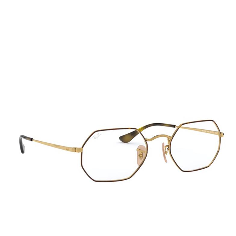 Ray-Ban® Irregular Eyeglasses: RX6456 color Havana On Arista 2945.