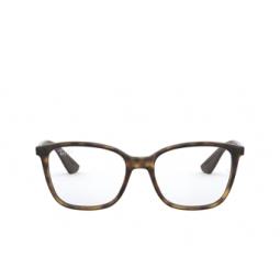 Ray-Ban® Eyeglasses: RX7066 color Shiny Havana 5577.