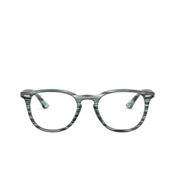 Ray-Ban® Eyeglasses: RX7159 color Blue Grey Stripped 5750.