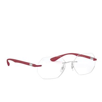Ray-Ban® Irregular Eyeglasses: RX8765 color Shiny Silver 1215.