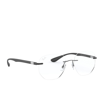 Ray-Ban® Irregular Eyeglasses: RX8766 color Matte Gunmetal 1128.