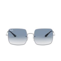 Ray-Ban® Sunglasses: Square RB1971 color Silver 91493F.
