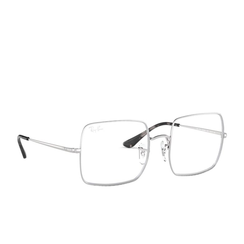 Ray-Ban® Square Eyeglasses: Square RX1971V color Silver 2501.