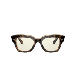 Ray-Ban® Sunglasses: State Street RB2186 color Havana On Trasparent Light Bro 1292BL.