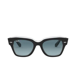 Ray-Ban® Sunglasses: State Street RB2186 color Black On Transparent 12943M.
