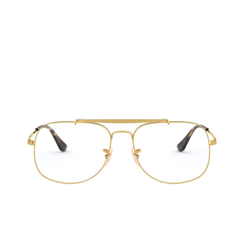 Ray-Ban® Aviator Eyeglasses: The General RX6389 color Gold 2500.