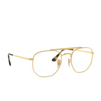 Ray-Ban® Aviator Eyeglasses: The Marshal RX3648V color Gold 2500.