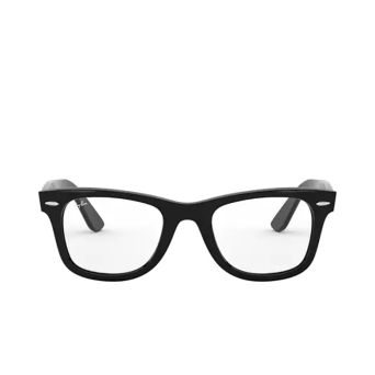Ray-Ban® Square Eyeglasses: Wayfarer Ease RX4340V color Black 2000.